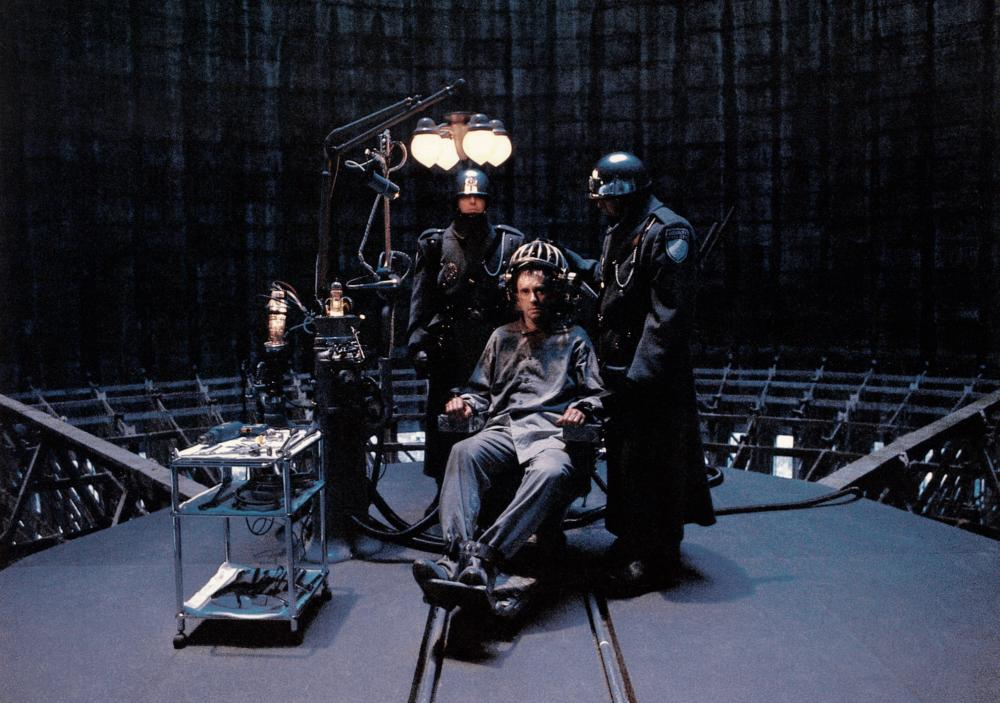 BRAZIL, Jonathan Pryce (center), 1985. ©Universal Pictures  How the Archons Destroy Your Life 95852 full