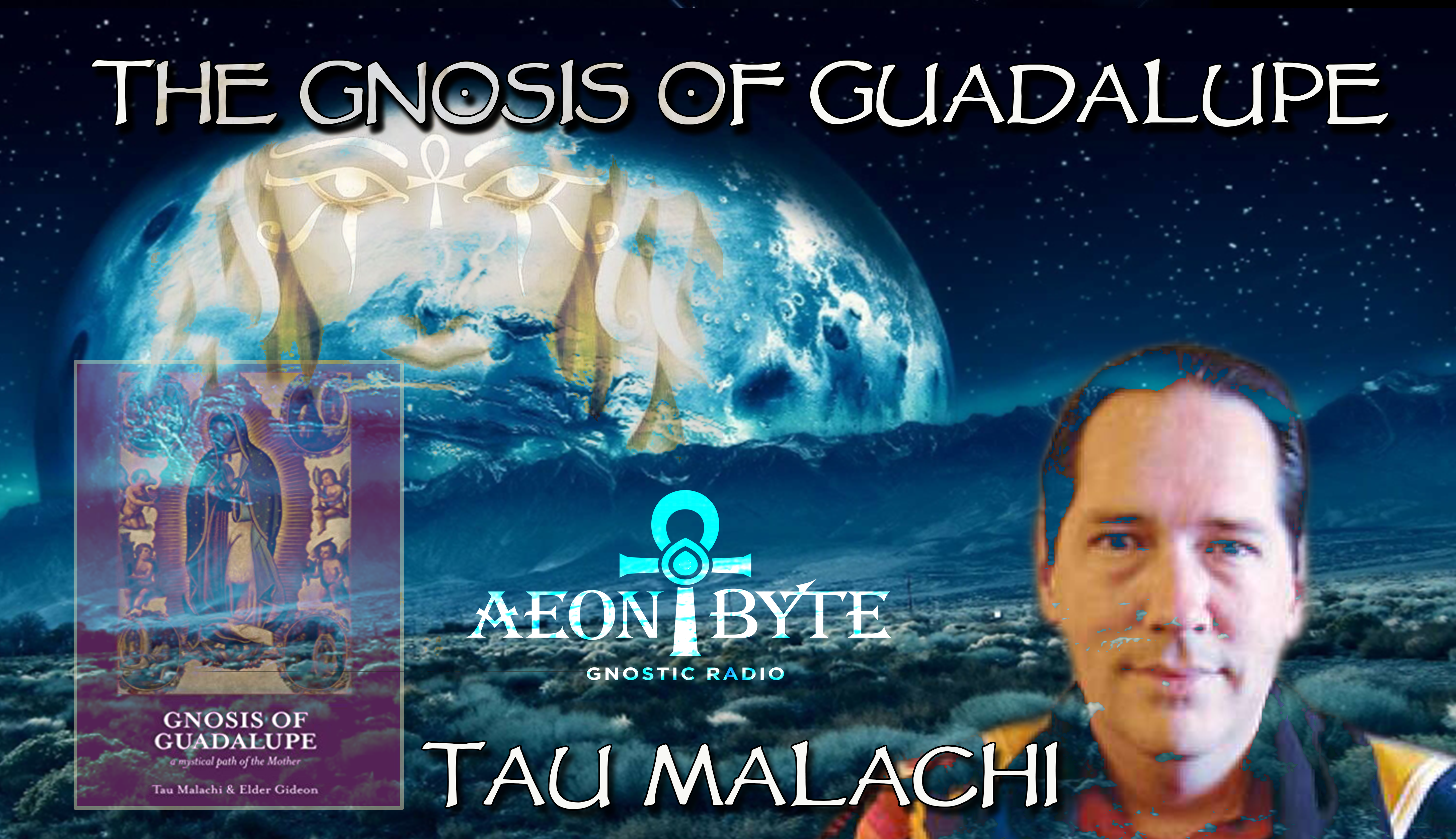 Picture of Tau Malachi and his book Gnosis of Guadalupe