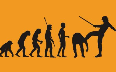 The Block Chain of Evolution: Divine Spark or Godless Fire?