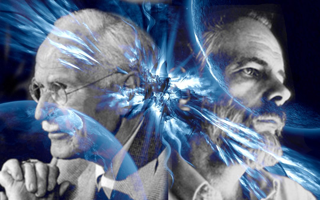 Picture of Carl Jung and Philip K. Dick